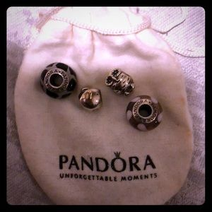 Pandora charms...can authenticate at Pandora